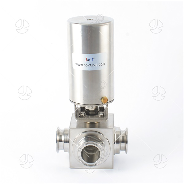 Sanitary Stainless Steel Square Tri Clamp Ball Valve
